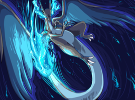 pokeddexy 22 fav mega - charizard x by Peegeray