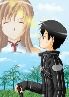 I always think of you - Kirito x Asuna by Yugoku-chan