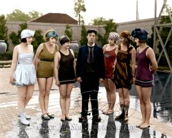 Buster Keaton with Bathing Beauties by BooBooGBs
