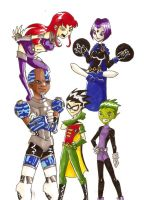 TEEN TITANS by thatgirl255