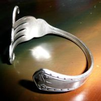 Fork Bangle by Wabbit-t3h