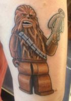 Lego Chewbacca by NateTheKnife