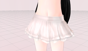 MMD- Chrome Skirt by Y0K0NI
