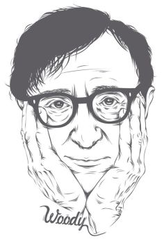 Woody Allen by violins-and-violence