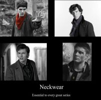 neckwear FTW by hpwolffreak