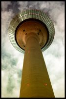 Rheinturm by Gorgone