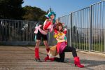 Juri and Koto Yu Yu Hakusho by Ivycosplay