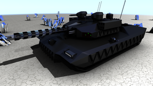 TBT-75 Atlas main battle tank by doug7070