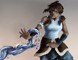 Korra by Ombre-Lumineuse