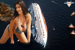Denise Milani and Toy Ships by MAZ-629999