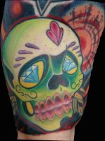 mikes suga skull by exilink