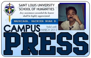 Campus Press ID by MeMe-kun
