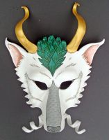 New Haku Mask by merimask