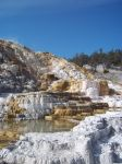 Mammoth Hot Springs - Yellowstone NP by Shadow848327