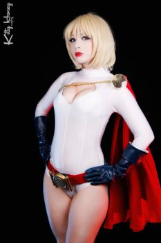 Power Girl cosplay 02 by Kitty-Honey
