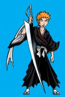Trent Lane as Ichigo Kurosaki by BloodyWilliam