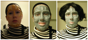 Slenderparty: Cardassian makeup stages by LMTYL