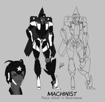 Neutralzone - Machinist design by pika