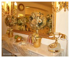 Golden New Year - decoration by Shangova