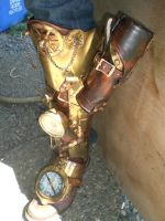 Steampunk Pirate Leg by Skinz-N-Hydez