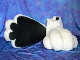 White Fursuit Feet for Sale by LobitaWorks