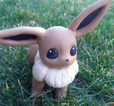 .: A Wild Eevee Appeared! :. by PhantomCarnival