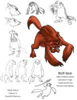 Bear-Wolf Character Sheet by WendyDoodles