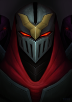 Embrace the shadow... or die in darkness! - ZED by kinwii