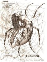 Arachne by artstain