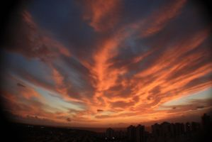 FIRE IN THE SKY by stef777