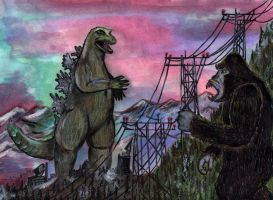 King Kong vs. Godzilla by Jamesbaack