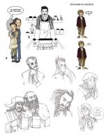 Fandomartdump - Ripper Street, The Hobbit, Vikings by LamechO
