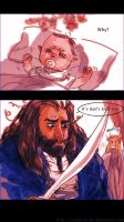 Thorin:It's Dad's best toy! by Rosalind-WT