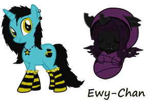Part 1 of Ewy-chans prize by JewelThePonyLover12