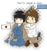 APH-Greece and Japan by luga12345