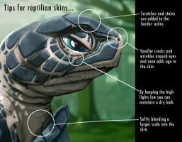 tips for painting creatures by DigitalCutti