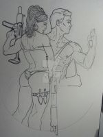 Archer and Lana Sketchbook (unfinished) by Essig-Peppard