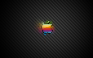 Apple Spray Wallpaper by jusso11