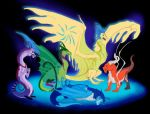 Inside Out Dragons by Galidor-Dragon
