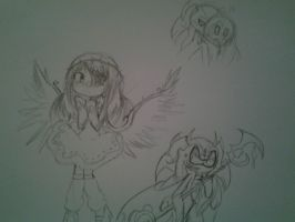 Doodles from School by Music-Lovette123
