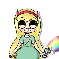 star Butterfly by RubyLandPlz