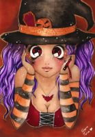 HALLOWEEN CARDS: LEELOOKIDO by Forunth