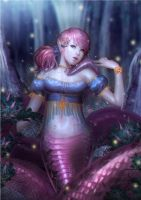 Lamia by InaWong