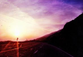Purple Mountain Sunset 2 by TheGerm84