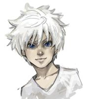 Killua by derpPlanet