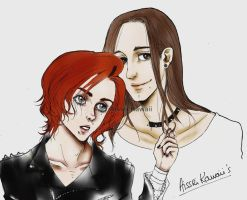 A picture of us by AissriKawaii