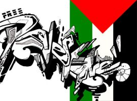 Free Palestine Sketch by STiX2000