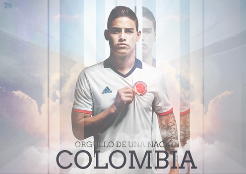 James Rodriguez || Orgullo colombiano by TxsDesign