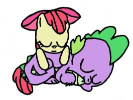 SpikeBloom: Nap Time by Closer-To-The-Sun