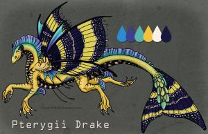 Pterygii Drake: Adopt Auction [SOLD] by Naeomi